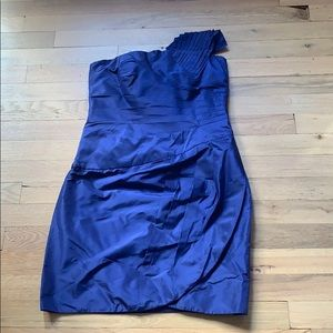 Mini blue dress Catherine Malandrino